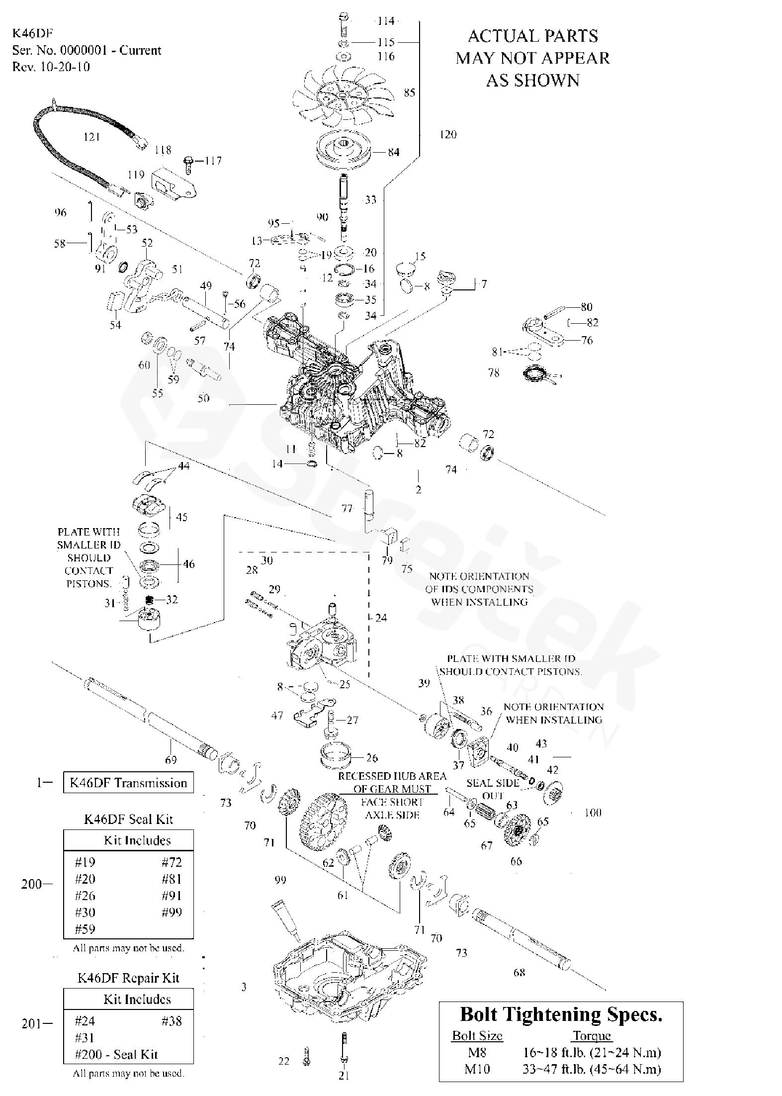 Tuff Torq K46 Parts Diagram